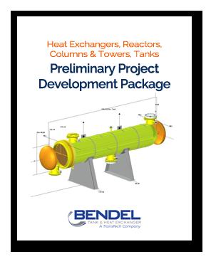 Heat Exchangers, Reactors, Columns & Towers, API Storage Tanks, Pressure Vessels - Preliminary Project Development Project